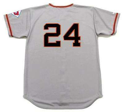 f97d9f95 ... WILLIE MAYS New York Giants 1951 Majestic Throwback Away Baseball Jersey  2