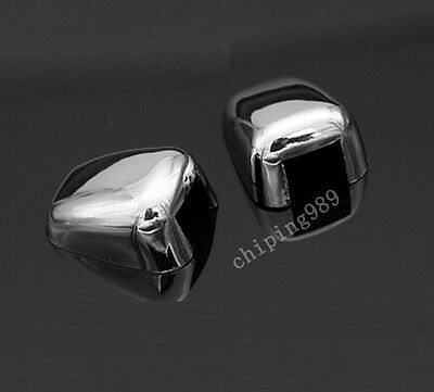 ABS CHROME WINDSHIELD WASHER WIPER NOZZLE COVER TRIM FOR JEEP GRAND CHEROKEE