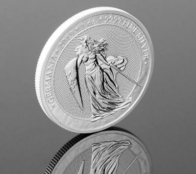 Germania 2019 – 5 Mark 1 Oz Pure Silver Brilliant Uncirculated Round *in Stock*
