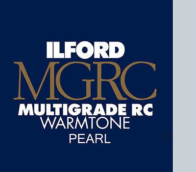 Ilford Warmtone Resin Coated 10x8 25 Pearl B+W Paper 2