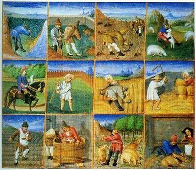 Encyclopedia Middle Ages 250 Color Pix Mughal Viking Celt Home Life Clothing War