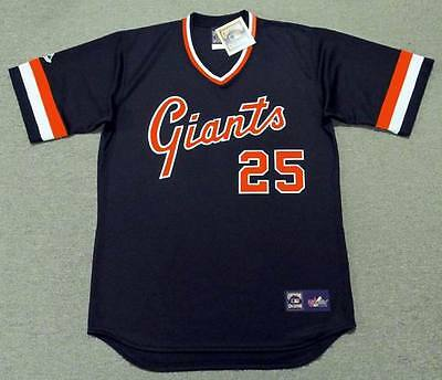 3b6912cc5 ... BARRY BONDS San Francisco Giants Majestic Cooperstown Throwback Baseball  Jersey 2
