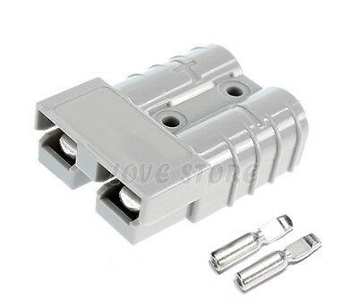 10 x Anderson Style Plug Connectors DC Power Tool 50 AMP 12-24V 6AWG 4