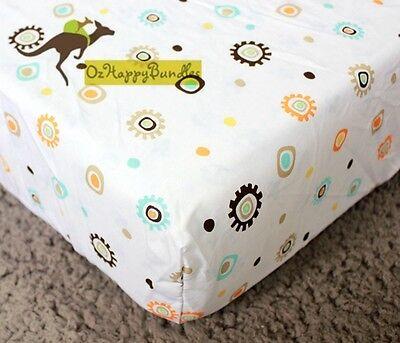 New Baby Boys 9 Pieces Cotton Nursery Bedding Crib Cot Sets-- Jungle Animals set