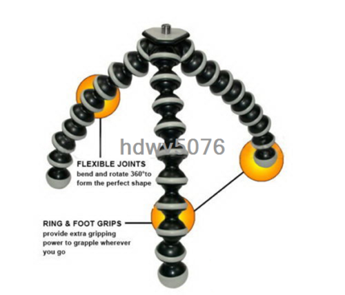 Octopus Flexible Tripod Stand Gorillapod For Canon Nikon Camera Digital DV New 10