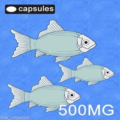 The Vitamin Omega 3 Fish Oil 500mg 180 Capsules - Bagged 2