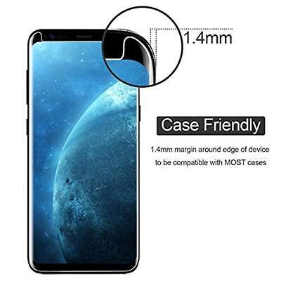 For Samsung Galaxy S9 5D Full Curved Tempered Glass LCD Screen Protector Clear 2