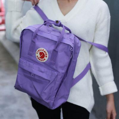 7L/16L/20L unisex Fjallraven Kanken Backpack Travel spalla scuola borse Marca