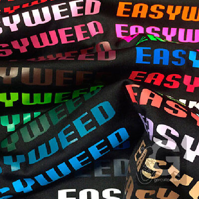 """Siser easyweed iron-on htv heat transfer vinyl 12"""" wide x 1, 3, and 5 yards 5"""