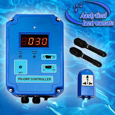 Ph+Redox/orp Controller Steuergerät Ozon Aquarium Pool Spa Süss-/salzwasser P19 4