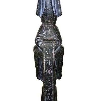Rare Ancient Egyptian Pharaoh King Ramsis II Statue Great Stone Black 1279 BC 6