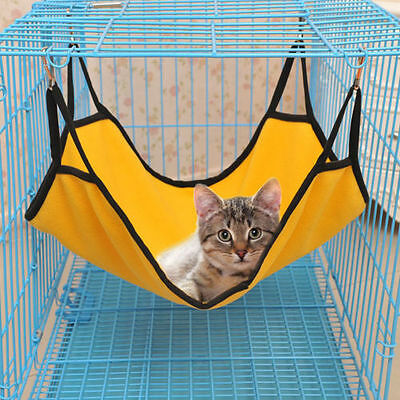 New Pet Supplies Soft Pet Dog Cat Ferret Hammock Animal  Cage Hanging Bed 3 • EUR 2,19