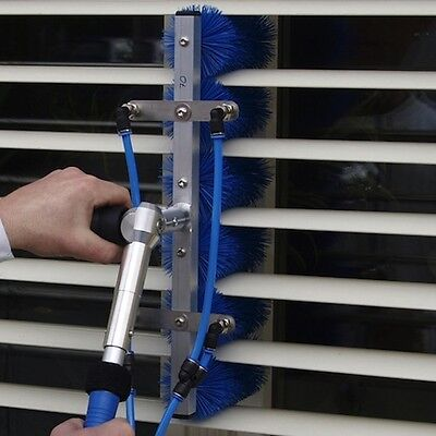 Lewi QLEEN Bürstenträger 75 mm mit Bürsten für Lamellenreiniger Lamellenträger 3