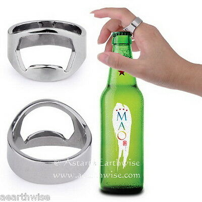 ULTIMATE BEER OPENING RING Wicca Witch Pagan Goth Yoga GREAT GIFT IDEA
