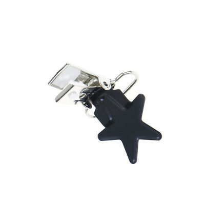 5Pcs Baby Star Metal Suspenders Clips Soothers Holder Dummy Pacifier Clip RASK 6