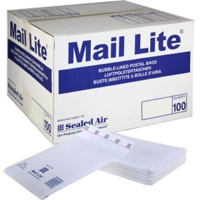 Mail Lite Padded Bags Envelopes 'All Sizes' All Courier - White Cheap 3