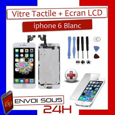 BLOC COMPLET VITRE TACTILE ECRAN LCD IPHONE 6/6 plus/6s/6s+/7/7+/8/8+ NOIR/BLANC 3