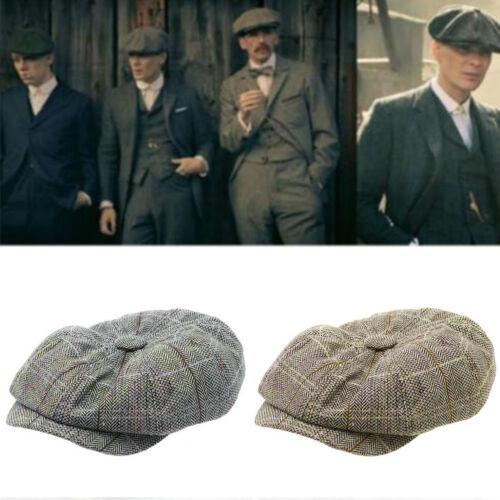 d45231c83ad Men Women Gatsby Newsboy Cabbie lvy Baker Hat Peaked Country Golf Beret Flat  Cap 12 12 of 12 See More