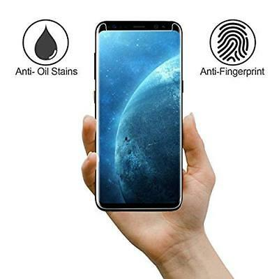 S8 Full Curved 5D Tempered Glass Screen Protector For Samsung Galaxy S8 - CLEAR 6