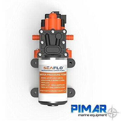 Pompa Autoclave Barca E Camper - Seaflo 12V 5.0 Lt/Min Con Pressostato Doccetta 2