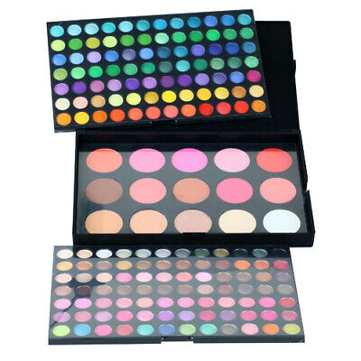 183 Colores Paleta de Sombras Ojo Kit Maquillaje Set Profesional Caja 2
