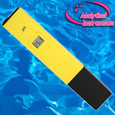 Ph-Meter Ph-Messgerät Ph-Messer Ph-Tester Aquarium Pool Spa P01 4