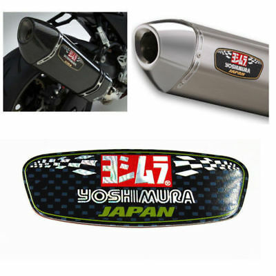 1x Heat-resistant Motorcycle Exhaust Pipe Sticker Scorpio Yoshimura Race Decal