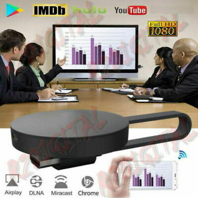 Display Dongle Hdmi Wireless Chromecast Google Mirascreen Media Video Stream Hd 3