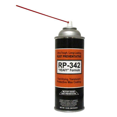 "3-Cans - COSMOLINE MILITARY-GRADE ""Heavy"" Spray Type Rust Preventive RP-342 2"