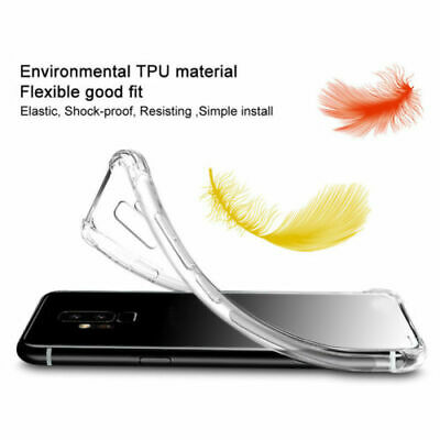 Shockproof Case For Samsung Galaxy A70 A50 A40 A30 A20 A10 Clear Silicone Cover 10
