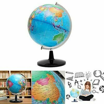 32cm World Globe Swivel Stand Rotating Geography Educational Student Kids Gift 7