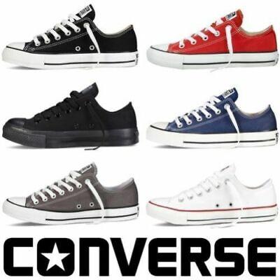 ALL/STAR Chuck Taylor Uomo Donna Unisex Maglia Scarpe Di Tela Basse Shoes #01 3