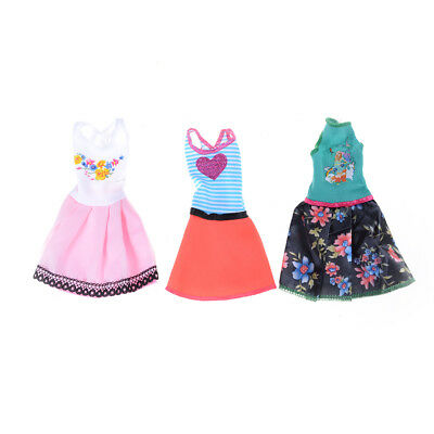Beautiful Handmade Fashion Clothes Dress For  Doll Cute Lovely Decor S! 3