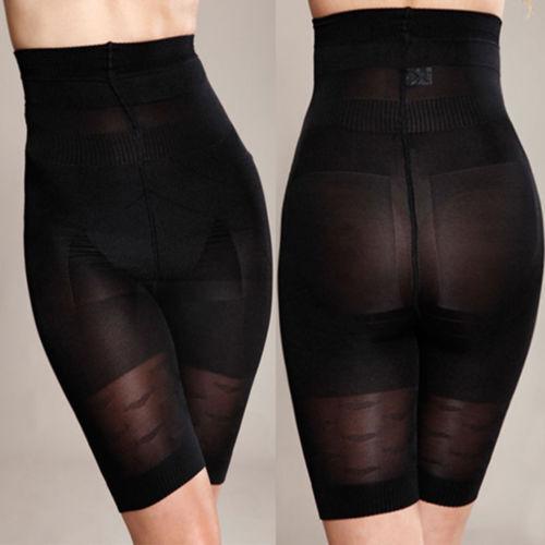 AU Women Slimming Body Shaper Control Tummy High Waist Panty Shapewear Underwear 8