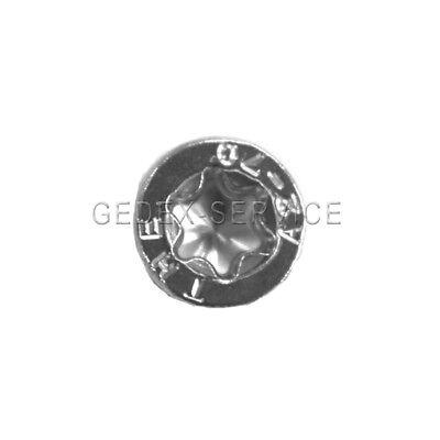 10 Stück M5X14 Zylinderkopfschrauben TORX ISO14579 A2