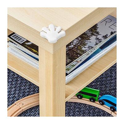NIP IKEA Family PATRULL White HAND SHAPED Child Corner Bumpers 8 Ct