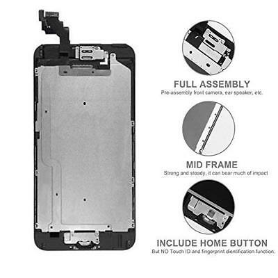 For iPhone 6 6s 7 7 Plus 8 Screen Replacement Lcd Digitizer Complete Home Button 5