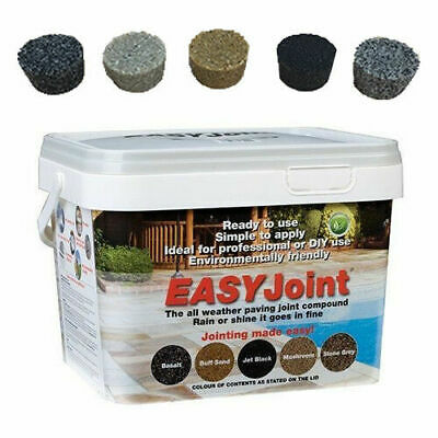 EasyJoint | Jointing Compound | Patio Pointing | Paving Mortar | Grout | 12.5Kg 8
