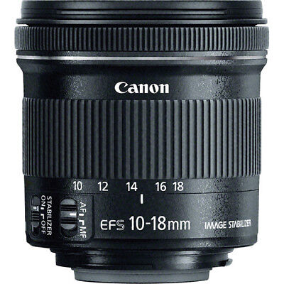 Canon EF-S 10-18mm f/4.5-5.6 IS STM Lens - 9519B002 - Brand New 3