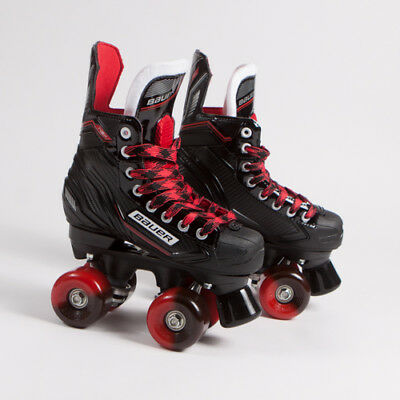 Bauer Quad Roller Skates - NSX - 2018 Model - Conversion - Sims Street Snakes 2