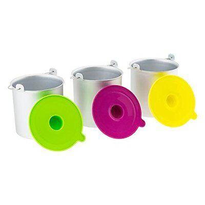 H. Koenig Kit cestelli contenitori recipienti ciotole gelato gelatiera HF250 6