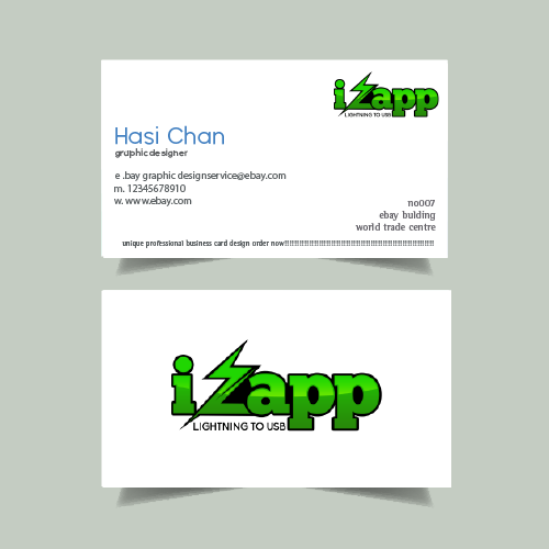 PRINT READY Professional Business Card Design 6