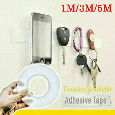 Magic Double-sided Grip Tape Traceless Washable Adhesive Gel Nano Invisible Tape 5