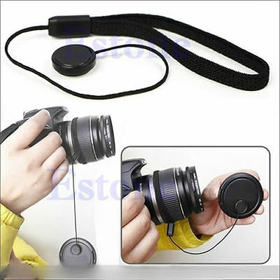 5Pcs Lens Cap Holder Keeper String Safty Cord For Canon Nikon Sony DSLR Cameras 3