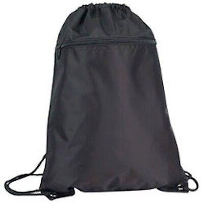 "1 Dozen Drawstrings Backpack Rucksack Tote Sacks Pack Bag 14x18"" Wholesale Bulk"
