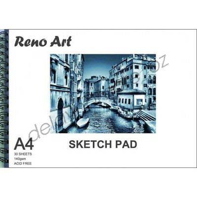 A4 Sketch Pad 140gsm Atrist Painting Art Paper Sketchbook  Drawing Craft Pastel 8