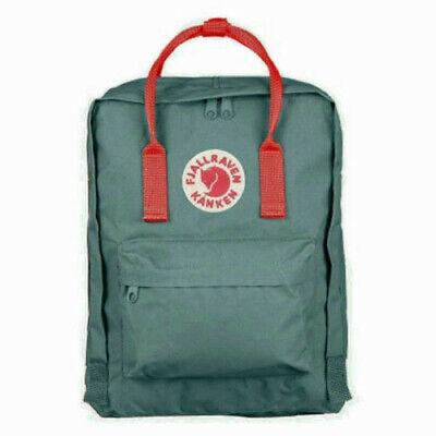7L/16L/20L Fjallraven Kanken Canvas Backpack Sport Travel Shoulder Bag Rucksack 8