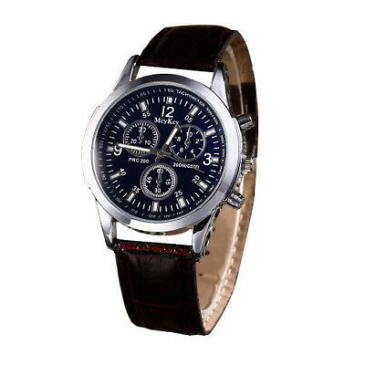 Wrist Watches for Man Boy Leather Strap Quartz Male kids Children Scout Him Gift