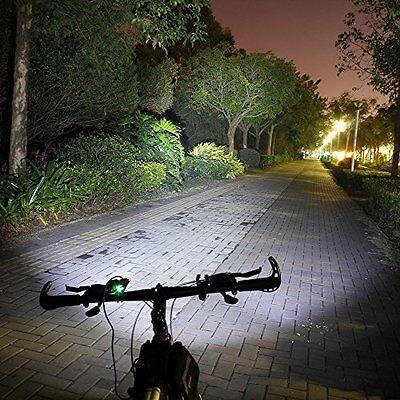 Linterna para bicicleta foco luz recargable de 8000LM 2 x CREE XM-L U2 led 8