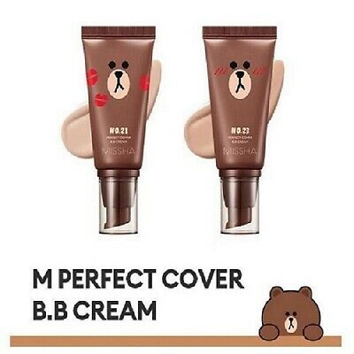 [MISSHA] M Perfect Cover BB Cream SPF 42 PA+++ 50ml / Korean Cosmetics 3